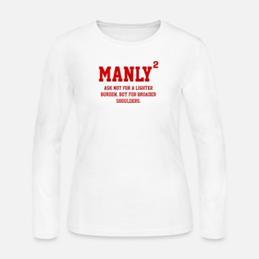 Manly MANLY SQUARED - Women's Jersey Longsleeve Shirt