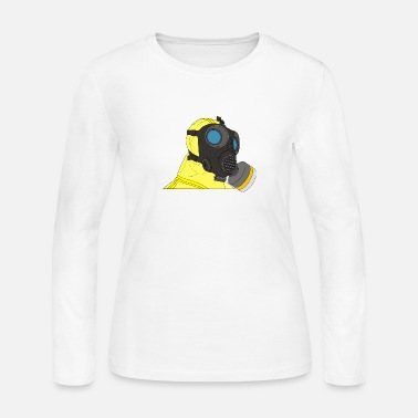 Breaking Bad suit and gas mask - Women's Jersey Longsleeve Shirt