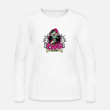 Child Punk Zombie - Women's Jersey Longsleeve Shirt