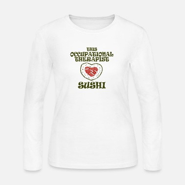 Occupation Occupational therapist - this occupational thera - Women's Long Sleeve Jersey T-Shirt