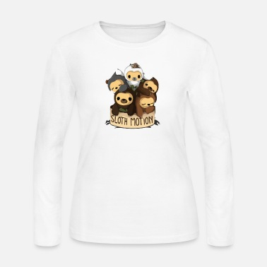 Motion SLOTH MOTION - Women's Jersey Longsleeve Shirt
