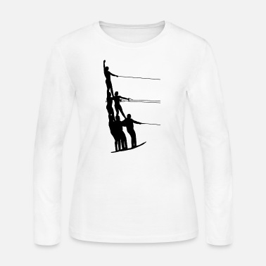 Water Sports Water Ski Water Sports - Women's Jersey Longsleeve Shirt