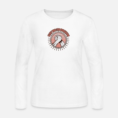 Against Against racism - Women's Long Sleeve Jersey T-Shirt