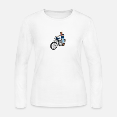 Matchless CLASSIC MOTORCYCLE - Women's Long Sleeve Jersey T-Shirt