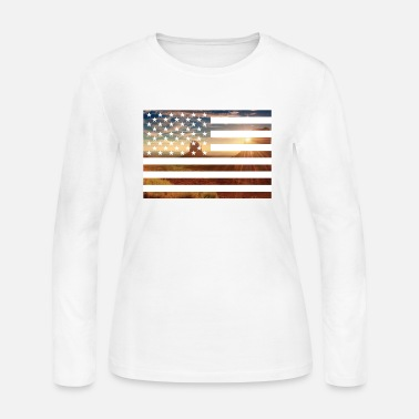 Monument Monument Valley - Women's Long Sleeve Jersey T-Shirt