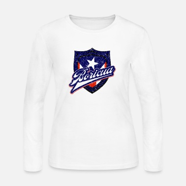 Boricua Badge - Women's Jersey Longsleeve Shirt
