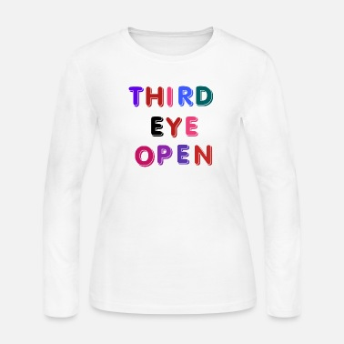 Cheeesed Off THIRD EYE OPEN , FUNNY EMOTIONAL - Women's Jersey Longsleeve Shirt