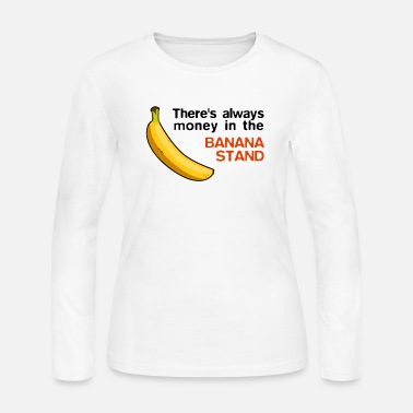 Arrested Banana Stand - Arrested Development design - Women's Jersey Longsleeve Shirt