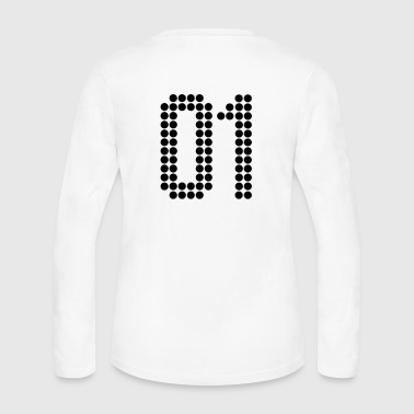 01, Numbers, Football Numbers, Jersey Numbers - Women's Long Sleeve Jersey T-Shirt
