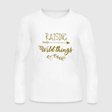 Raising Wild Things - Women's Long Sleeve Jersey T-Shirt