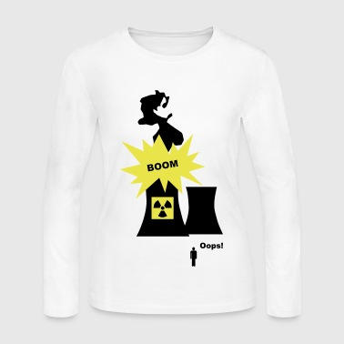Nuclear Energy - Women's Long Sleeve Jersey T-Shirt