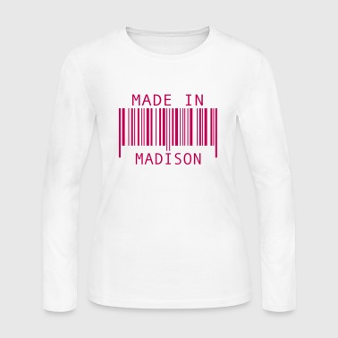 Made in Madison - Women's Long Sleeve Jersey T-Shirt