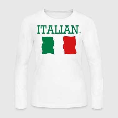 ITALIAN - Women's Long Sleeve Jersey T-Shirt