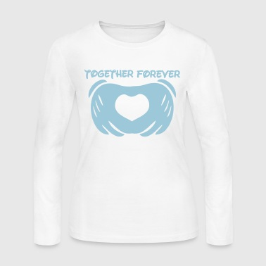 together forever love - Women's Long Sleeve Jersey T-Shirt