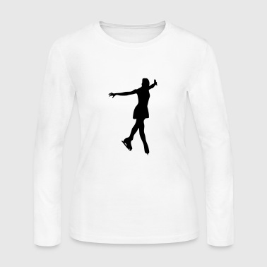 Figure Skating - Women's Long Sleeve Jersey T-Shirt