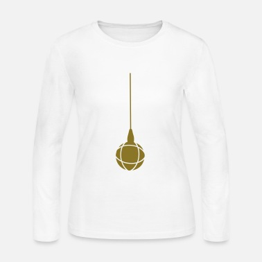 Petanque leve magnetic petanque ball - Women's Long Sleeve Jersey T-Shirt