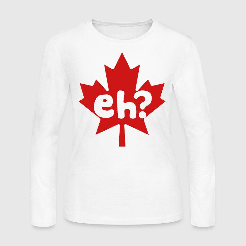Eh Canada Day - Women's Long Sleeve Jersey T-Shirt