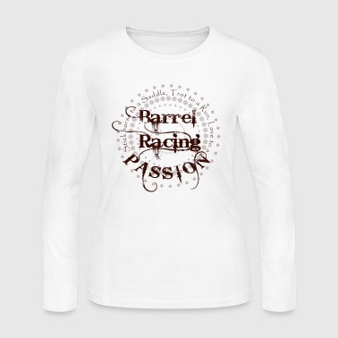 New Barrel Racing Passion - Women's Long Sleeve Jersey T-Shirt