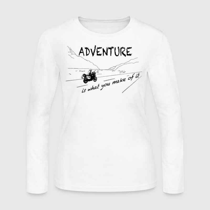 ADV is what you make of it - Women's Long Sleeve Jersey T-Shirt