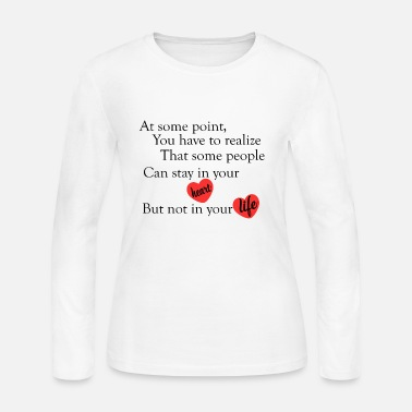 Quote love quotes cool - Women's Long Sleeve Jersey T-Shirt