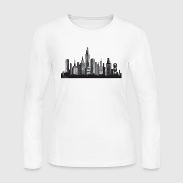 Cityscape ney york - Women's Long Sleeve Jersey T-Shirt