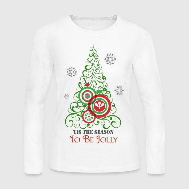 Tis the Season to be Jolly - Women's Long Sleeve Jersey T-Shirt