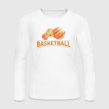 basket - Women's Long Sleeve Jersey T-Shirt
