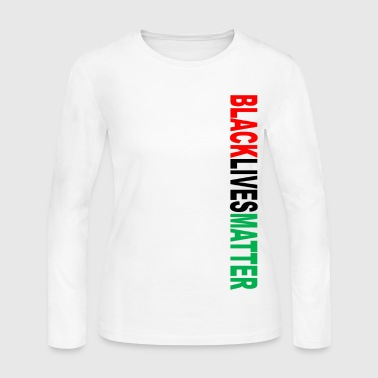Black Lives Matter Black Lives Matter RBG (V - Women's Long Sleeve Jersey T-Shirt