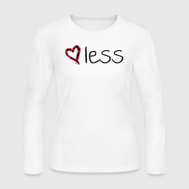 Heartless heartless - Women's Long Sleeve Jersey T-Shirt