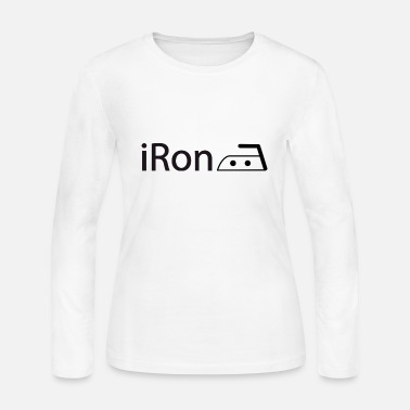 Ironic iRon - Women's Long Sleeve Jersey T-Shirt