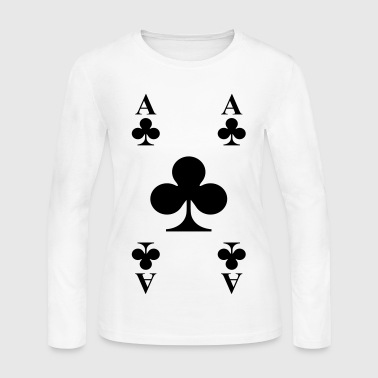 Playing Cards - Women's Long Sleeve Jersey T-Shirt