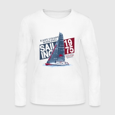 East Coast Sailing - Women's Long Sleeve Jersey T-Shirt