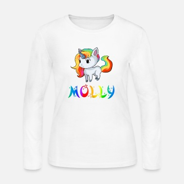 Molly Molly Unicorn - Women's Long Sleeve Jersey T-Shirt