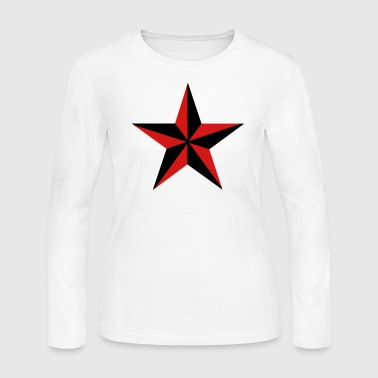 Nautical Star - Women's Long Sleeve Jersey T-Shirt