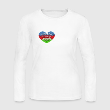 Peace Love Prosperity - Women's Long Sleeve Jersey T-Shirt
