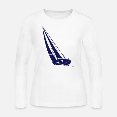 Sailingboat Sailingboat - Sailingship - Women's Long Sleeve Jersey T-Shirt