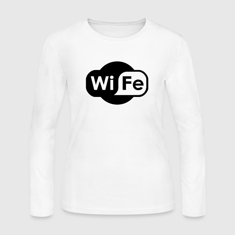 Wife Logo - Women's Long Sleeve Jersey T-Shirt