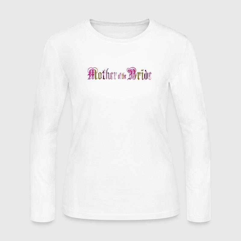 MOTHER of the BRIDE - Women's Long Sleeve Jersey T-Shirt
