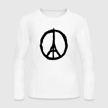 PRAY FOR PARIS - Women's Long Sleeve Jersey T-Shirt
