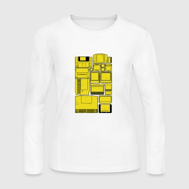The Cartridge Family - Women's Long Sleeve Jersey T-Shirt