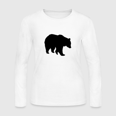 Bear - Grizzly - Women's Long Sleeve Jersey T-Shirt