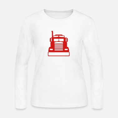 American Icon american icon truck 1103 - Women's Long Sleeve Jersey T-Shirt