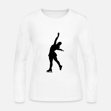 Figure Skating Figure Skating - Women's Long Sleeve Jersey T-Shirt