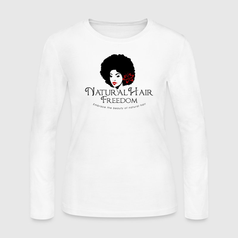 Natural Hair Freedom Tank - Women's Long Sleeve Jersey T-Shirt