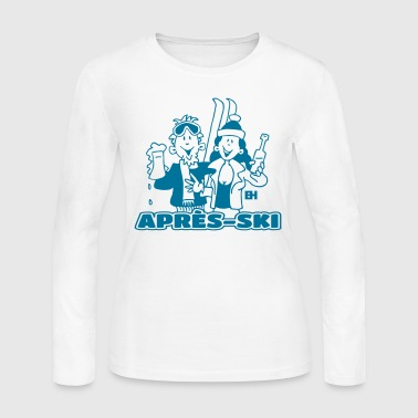 Après-ski - Women's Long Sleeve Jersey T-Shirt