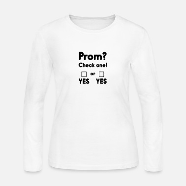 Prom Prom night? - Women's Long Sleeve Jersey T-Shirt