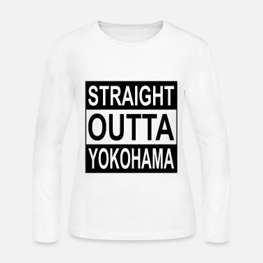 Yokohama STRAIGHT OUTTA YOKOHAMA - Women's Long Sleeve Jersey T-Shirt
