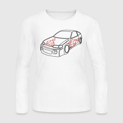 Car - Women's Long Sleeve Jersey T-Shirt