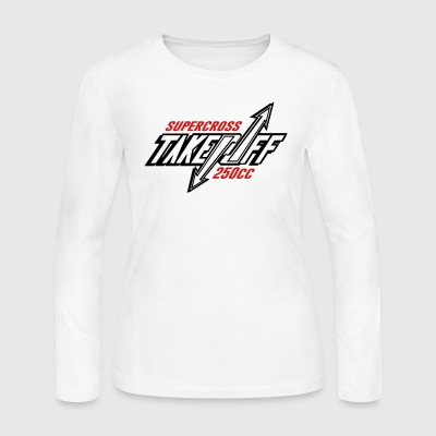 TakeOff-Supercross250cc - Women's Long Sleeve Jersey T-Shirt
