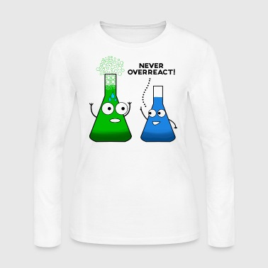 Chemistry/Chemist/Science/Funny/Chemical/Research - Women's Long Sleeve Jersey T-Shirt